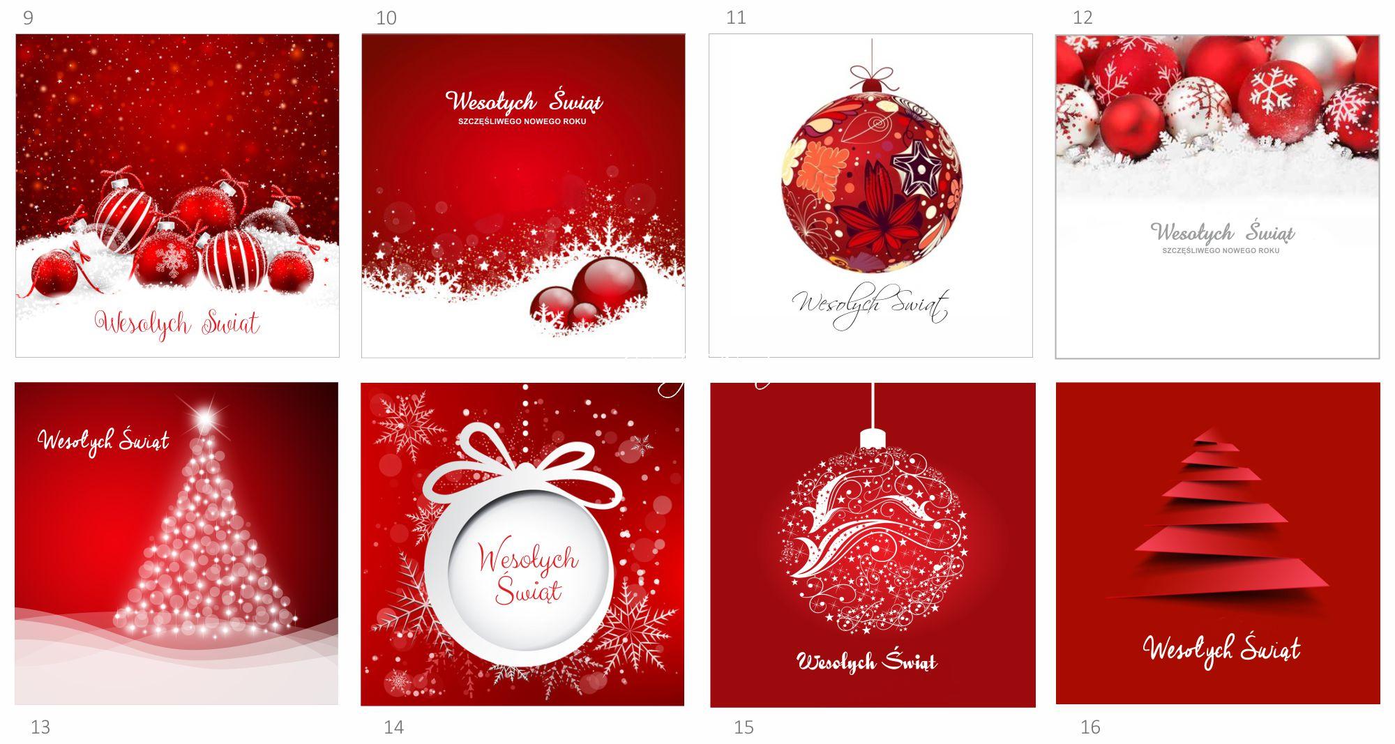 Firmowe kartki świąteczne 1